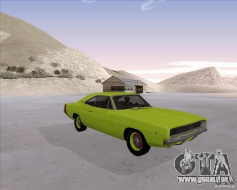 Dodge Charger RT 440 1968 pour GTA San Andreas
