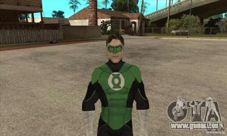Green Lantern für GTA San Andreas zweiten Screenshot