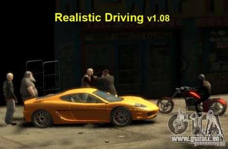 Realistic conduite pour GTA 4