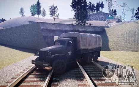 Millitary Truck von Mafia II für GTA 4