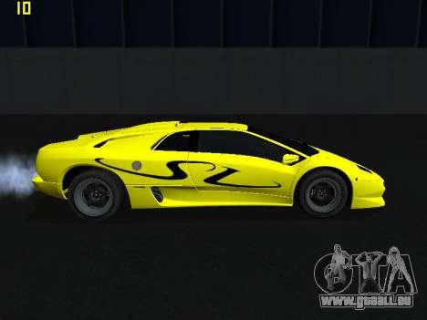 Lamborghini Diablo SV pour GTA San Andreas laissé vue