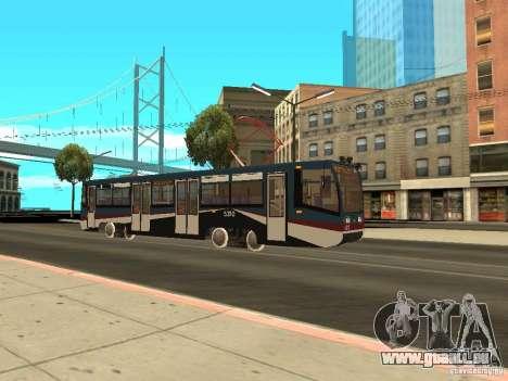 Die neue Straßenbahn für GTA San Andreas fünften Screenshot