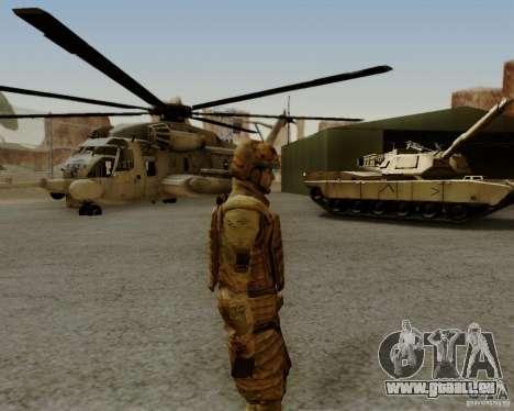 Tom Clancys Ghost Recon pour GTA San Andreas sixième écran