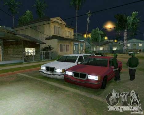Elegant Limo für GTA San Andreas linke Ansicht