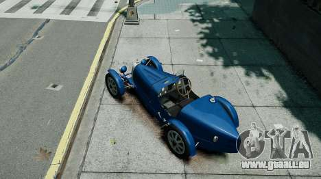 Bugatti Type 35C für GTA 4 Rückansicht