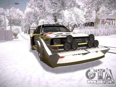 Audi Quattro Pikes Peak pour GTA San Andreas