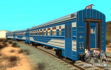 Train ER2-K-1321 pour GTA San Andreas laissé vue