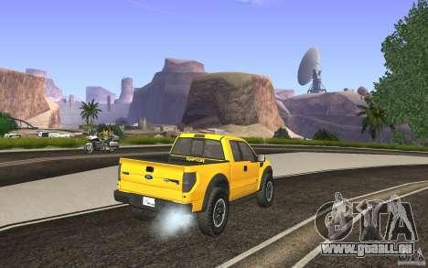 Ford F150 SVT RapTor für GTA San Andreas linke Ansicht