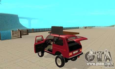 VAZ 2121 Niva für GTA San Andreas Rückansicht