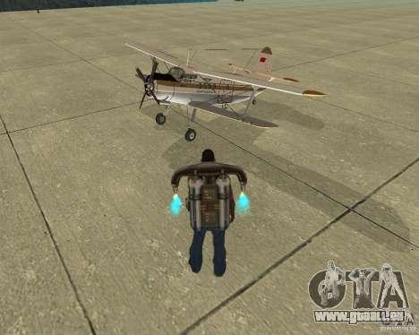 Transport aérien Pak pour GTA San Andreas moteur