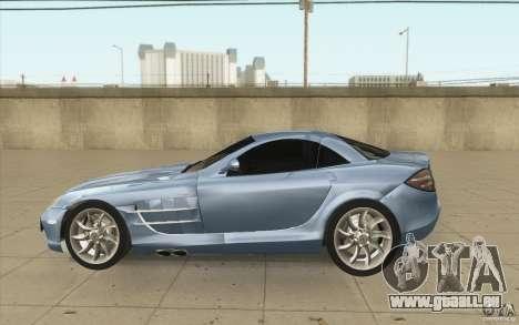 Mercedes-Benz SLR McLaren 2005 pour GTA San Andreas laissé vue
