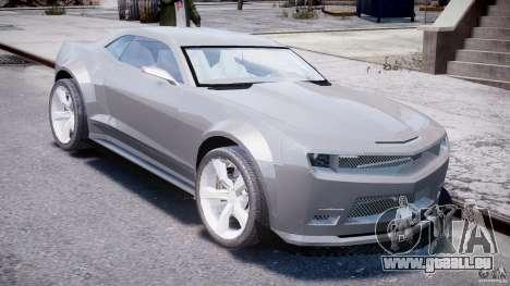 Chevrolet Camaro 2009 pour GTA 4 est un droit