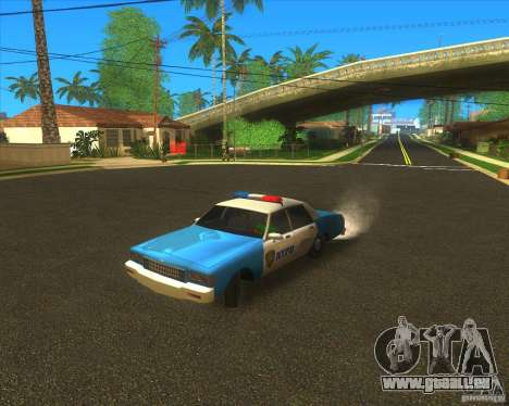 Chevrolet Caprice Classic 1986 NYPD pour GTA San Andreas