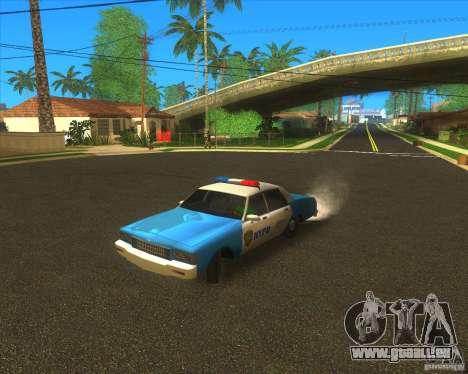 Chevrolet Caprice Classic 1986 NYPD für GTA San Andreas