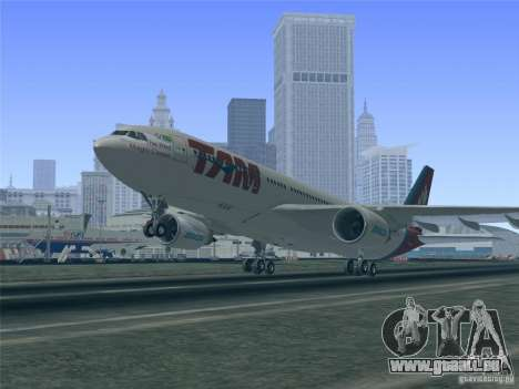 Airbus A330-223 TAM Airlines für GTA San Andreas Motor