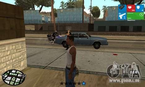 Windows 8 HUD pour GTA San Andreas troisième écran