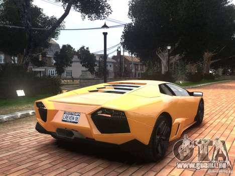 Lamborghini Reventon 2008 für GTA 4 linke Ansicht
