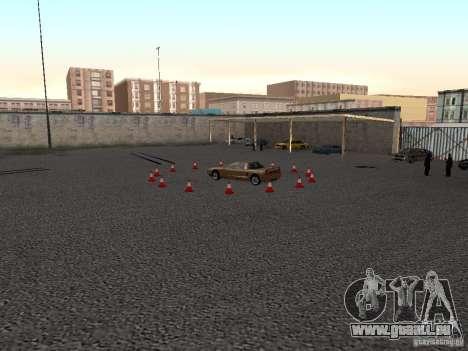 Réaliste conduite école v1.0 pour GTA San Andreas deuxième écran