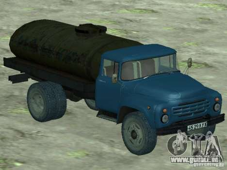 Camion-citerne de lait ZIL 130 pour GTA San Andreas