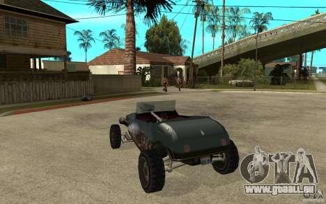 Deuce Brutal Legend pour GTA San Andreas sur la vue arrière gauche