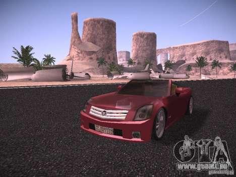 Cadillac XLR 2006 pour GTA San Andreas