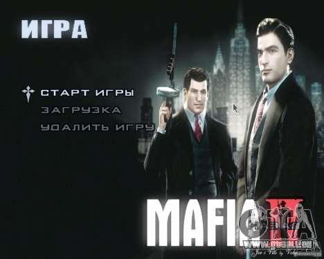 Bildschirme von Mafia 2 laden für GTA San Andreas dritten Screenshot