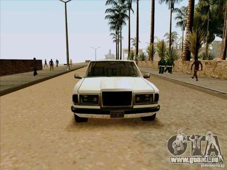 Admiral Limo für GTA San Andreas rechten Ansicht