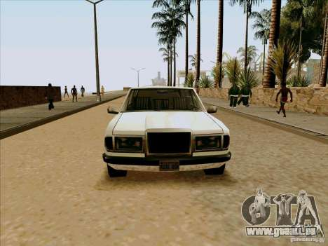 Admiral Limo pour GTA San Andreas vue de droite