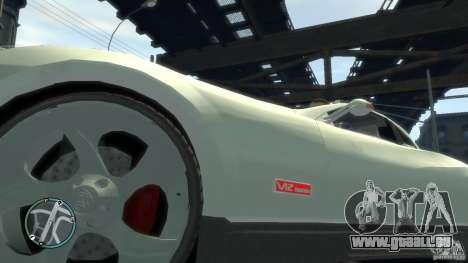Maybach Exelero pour GTA 4 Vue arrière