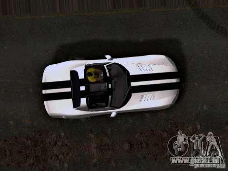 Dodge Viper SRT-10 Custom für GTA San Andreas Rückansicht