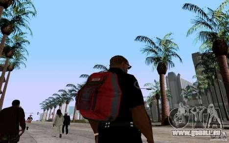 Le nouveau parachute pour GTA San Andreas deuxième écran
