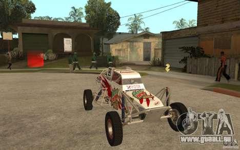 CORR Super Buggy 1 (Schwalbe) für GTA San Andreas Rückansicht
