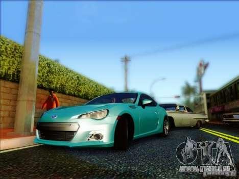 Subaru BRZ S 2012 für GTA San Andreas linke Ansicht