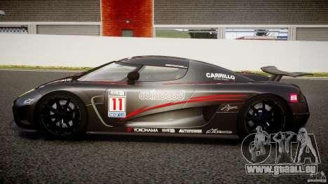 Koenigsegg Agera v1.0 [EPM] für GTA 4 linke Ansicht