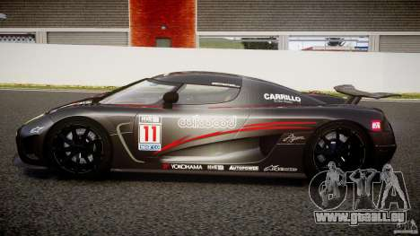 Koenigsegg Agera v1.0 [EPM] pour GTA 4 est une gauche
