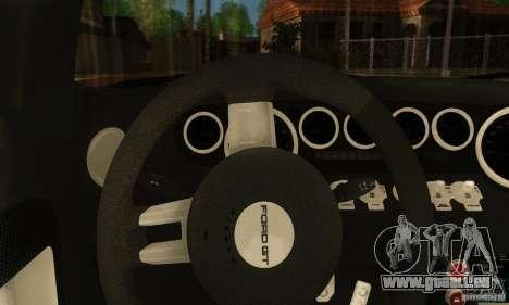 Ford GTX1 Roadster V1.0 pour GTA San Andreas vue de droite