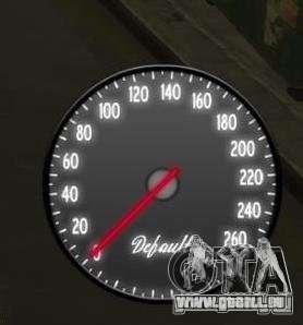 Compteur de vitesse IV (2 Skins) pour GTA 4 secondes d'écran