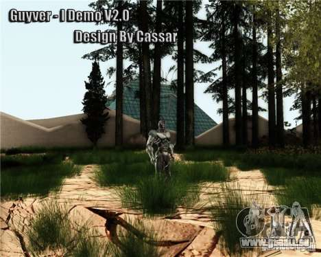 Guyver-I Demo für GTA San Andreas