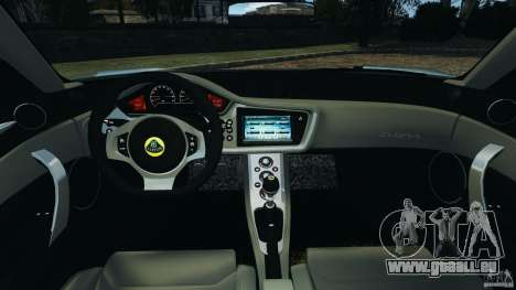 Lotus Evora 2009 v1.0 für GTA 4 Rückansicht