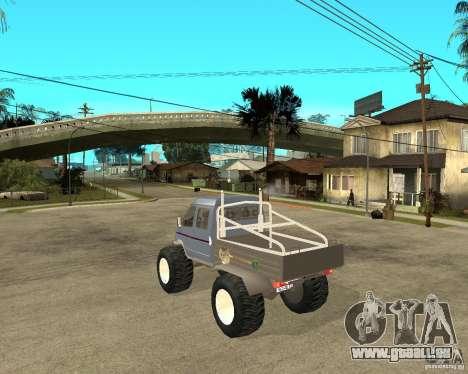 GAS KeržaK (Swamp Buggy) für GTA San Andreas linke Ansicht