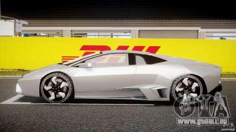 Lamborghini Reventon v2 pour GTA 4 est une vue de l'intérieur