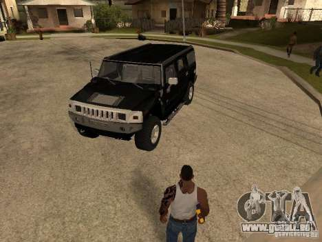 Système d'alarme pour les voitures pour GTA San Andreas troisième écran