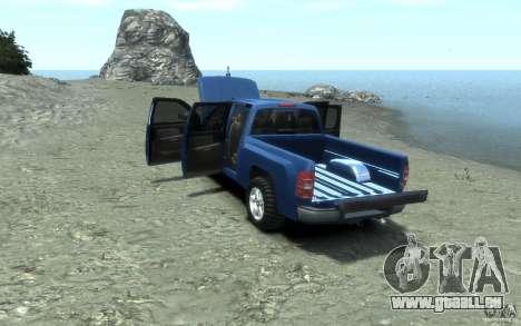 Chevrolet Silverado 2008 für GTA 4 obere Ansicht