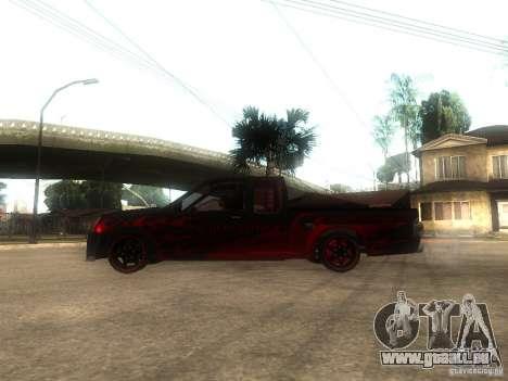 Isuzu D-Max pour GTA San Andreas laissé vue