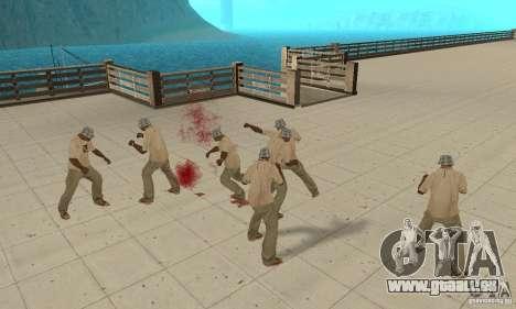 Eine Menge von CJ für GTA San Andreas sechsten Screenshot