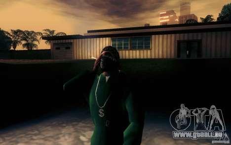 Realistische Zigarette für GTA San Andreas zweiten Screenshot