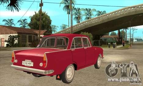 AZLK 408 für GTA San Andreas rechten Ansicht