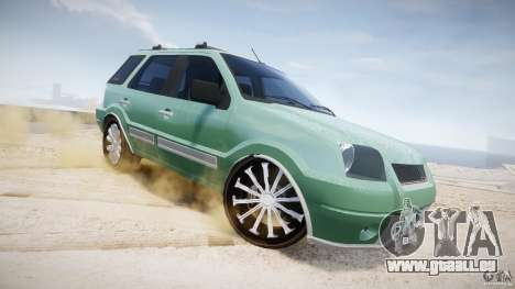 Ford EcoSport pour GTA 4 est une vue de dessous