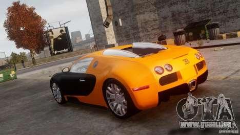 Bugatti Veyron 16.4 pour GTA 4 est une gauche