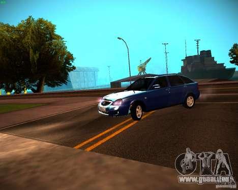 VAZ-2172 Restajl pour GTA San Andreas laissé vue